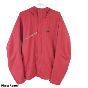 Helly Hansen Men's Red Lightweight Rain Jacket XL